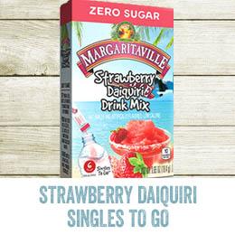 Strawberry Daiquiri Singles To Go