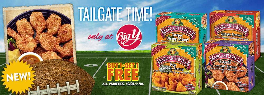 Margaritaville Foods available at Big-Y