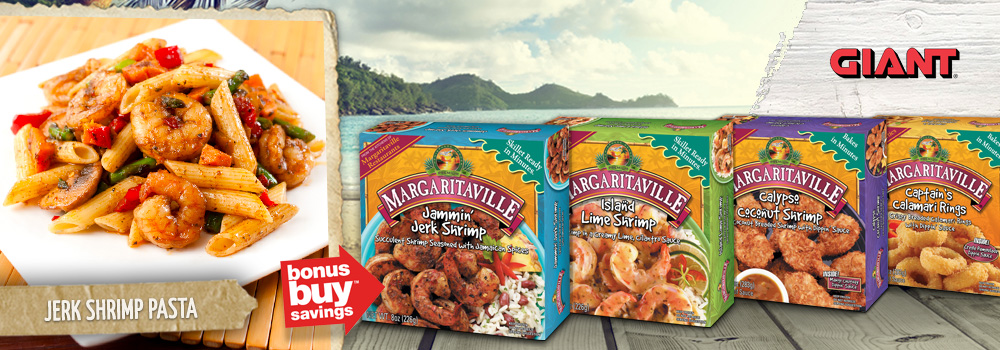 Margaritaville Foods available at GIANT