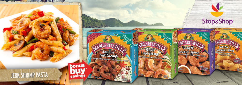 Margaritaville Foods available at Stop and Shop