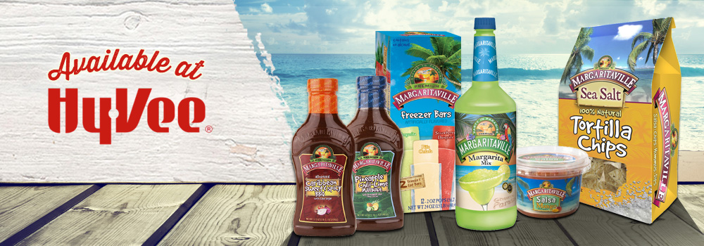 Margaritaville Foods Available at Hy-Vee