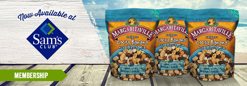 Margaritaville Foods Available at Sams Club