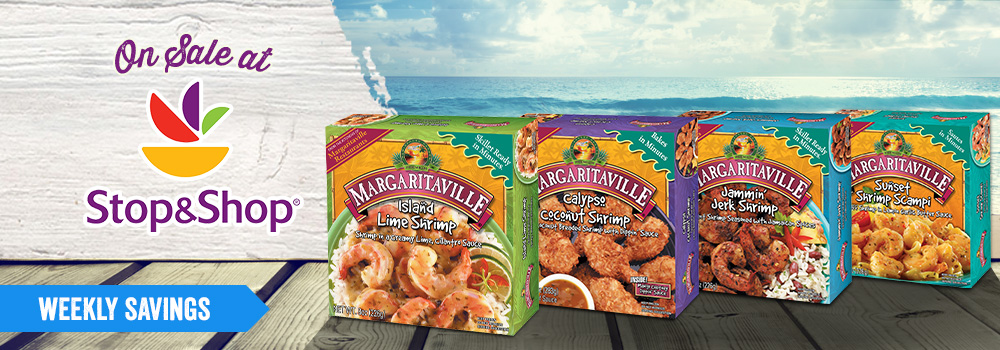 Margaritaville Foods Available at Stop & Shop