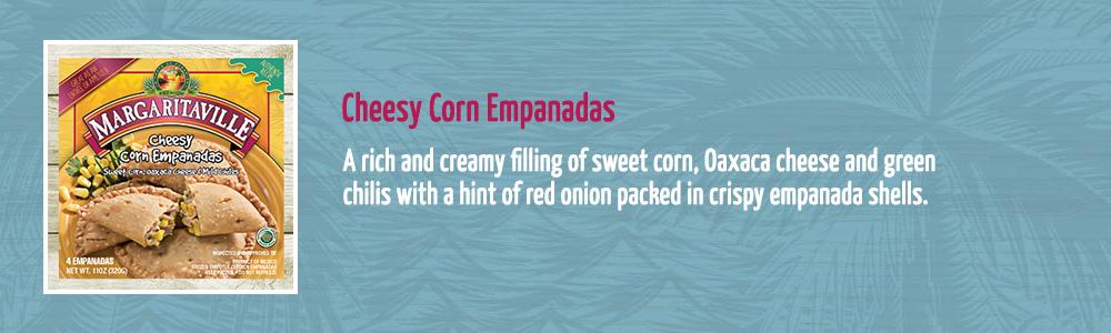 Cheesy Corn Empanadas