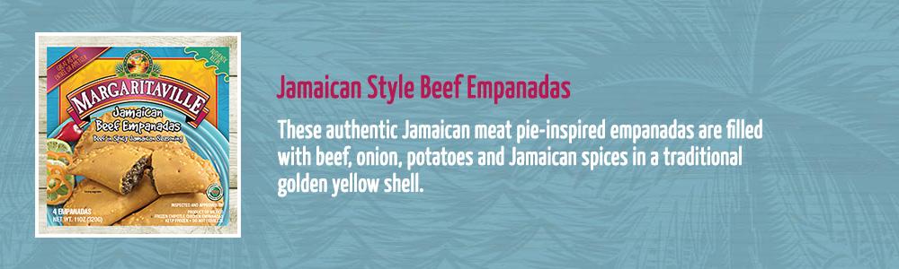 Jamaican Style Beef Empanadas