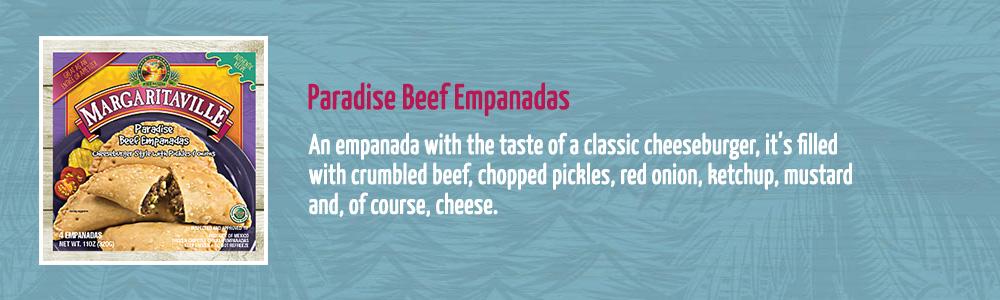 Paradise Beef Empanadas