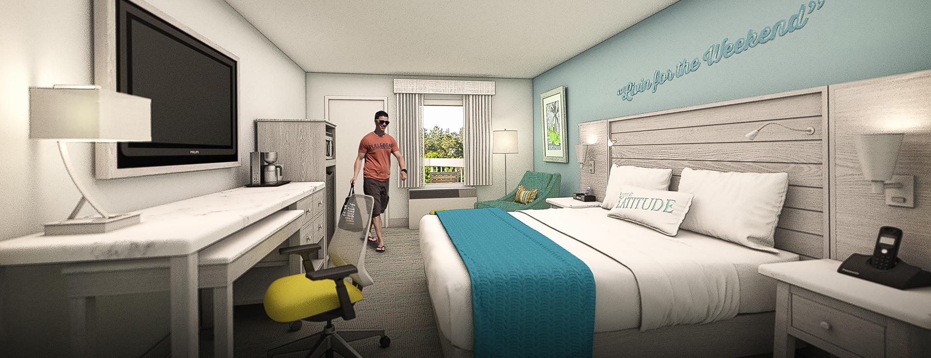 Rooms   Margaritaville Island Inn