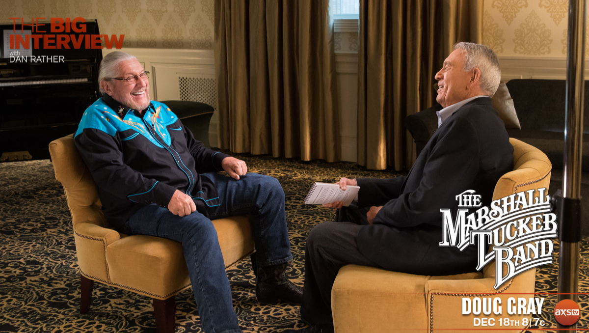 THE BIG INTERVIEW WITH DAN RATHER TO SPOTLIGHT THE MARSHALL TUCKER BAND