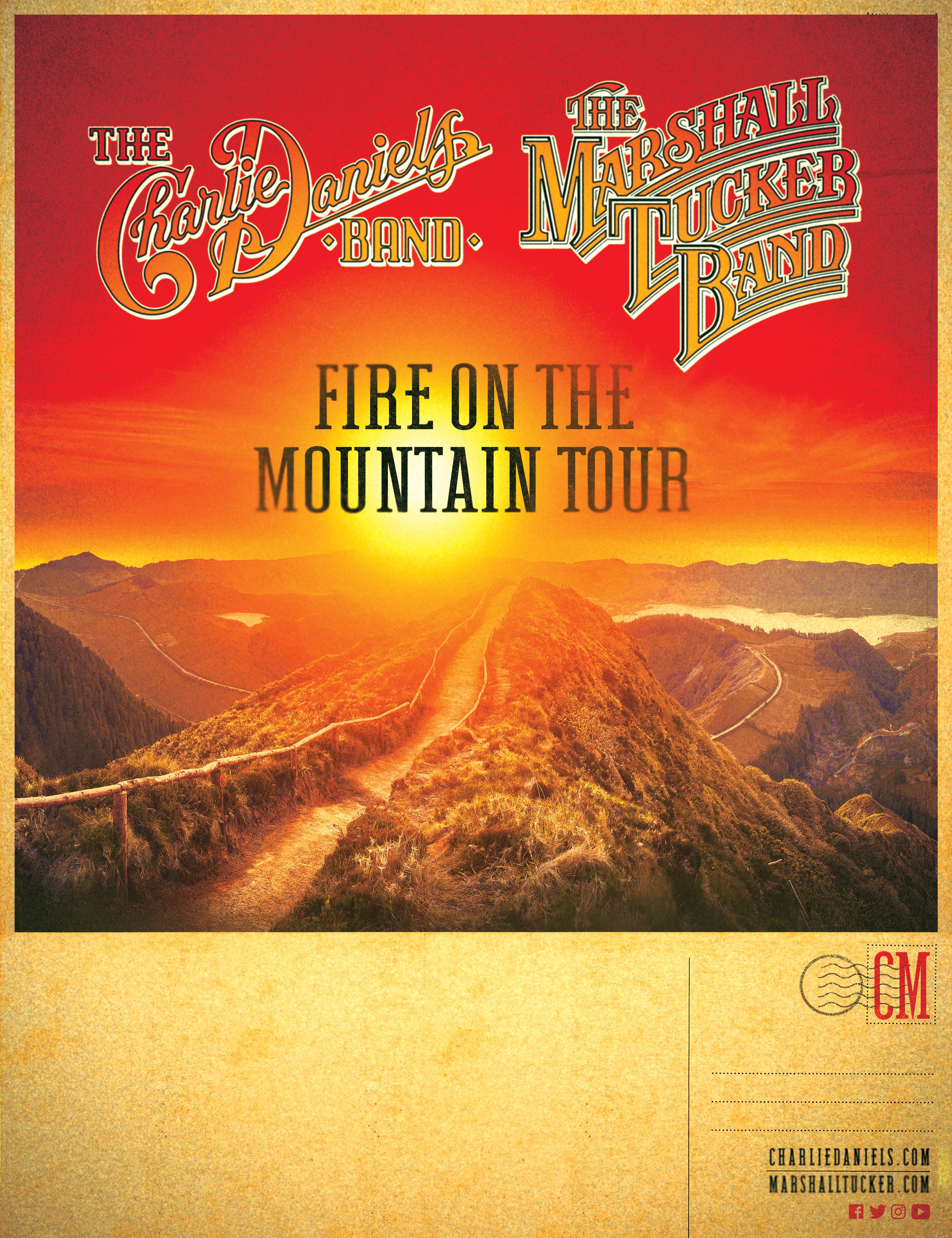 Charlie Daniels Band, Marshall Tucker Band to Charleston tour stop
