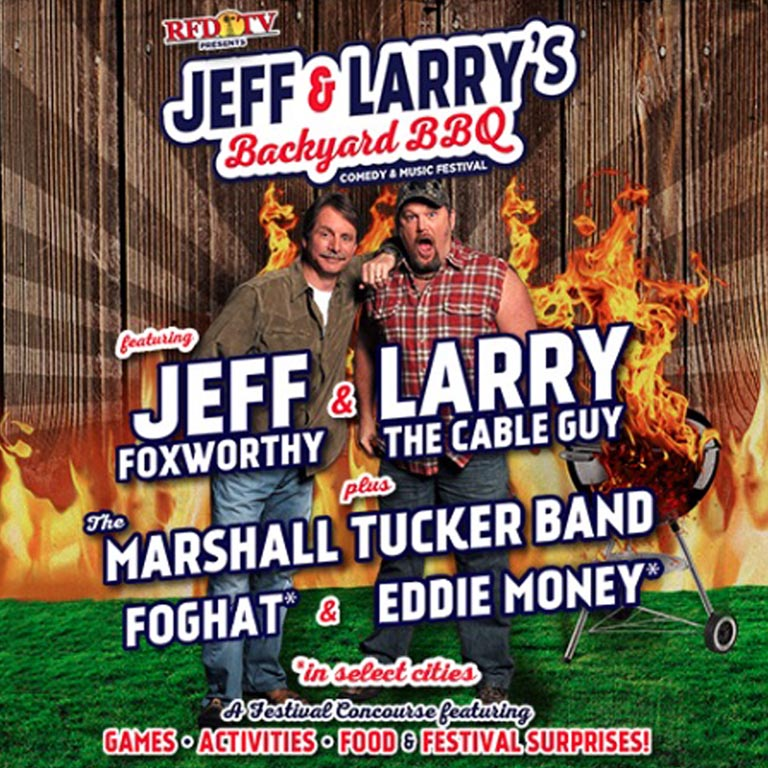 THE MARSHALL TUCKER BAND JOINS JEFF AND LARRY'S BACKYARD BBQ