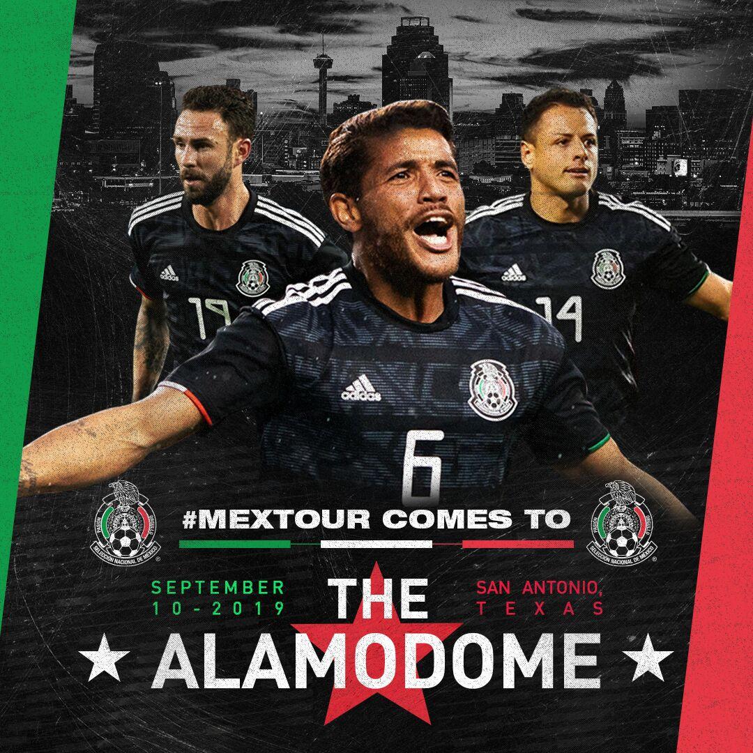 0e086b5bc The Mexican National Team 2019 U.S. Tour