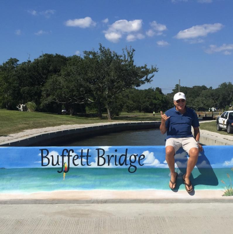 Jimmy honored with Buffett Bridge in Pascagoula, MS