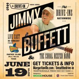 Jimmy & the Coral Reefers: Live at the Drive-in Nationwide Broadcast on June 19th!