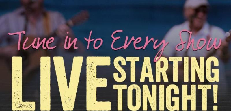 Tune in to every Jimmy Buffett show LIVE starting TONIGHT!
