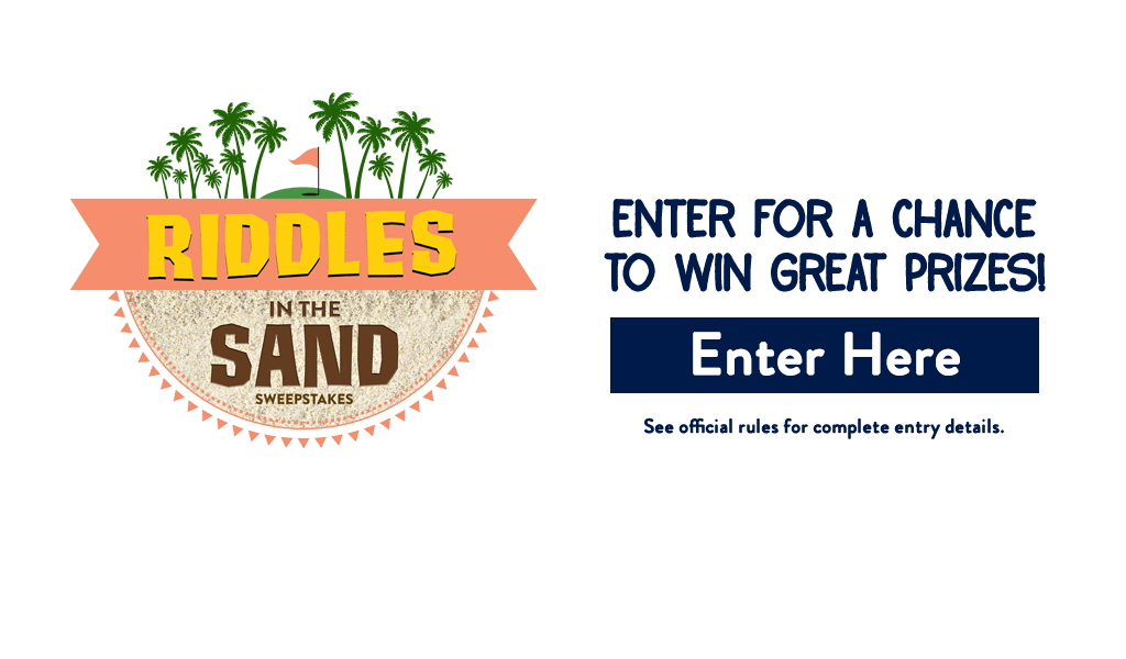Riddles In The Sand Sweepstakes