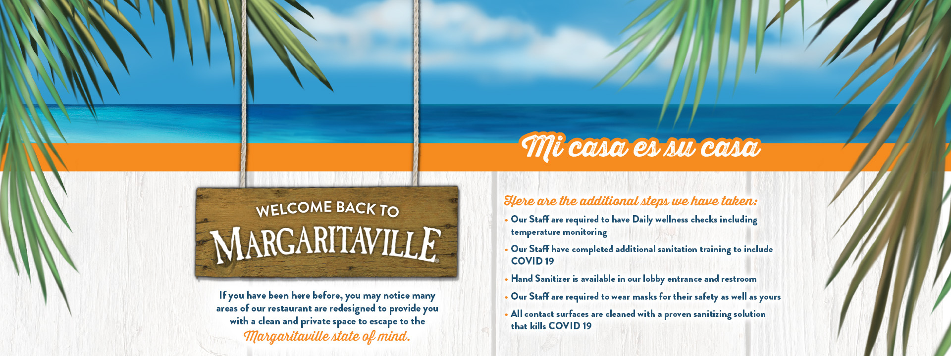 Welcome back to Margaritaville