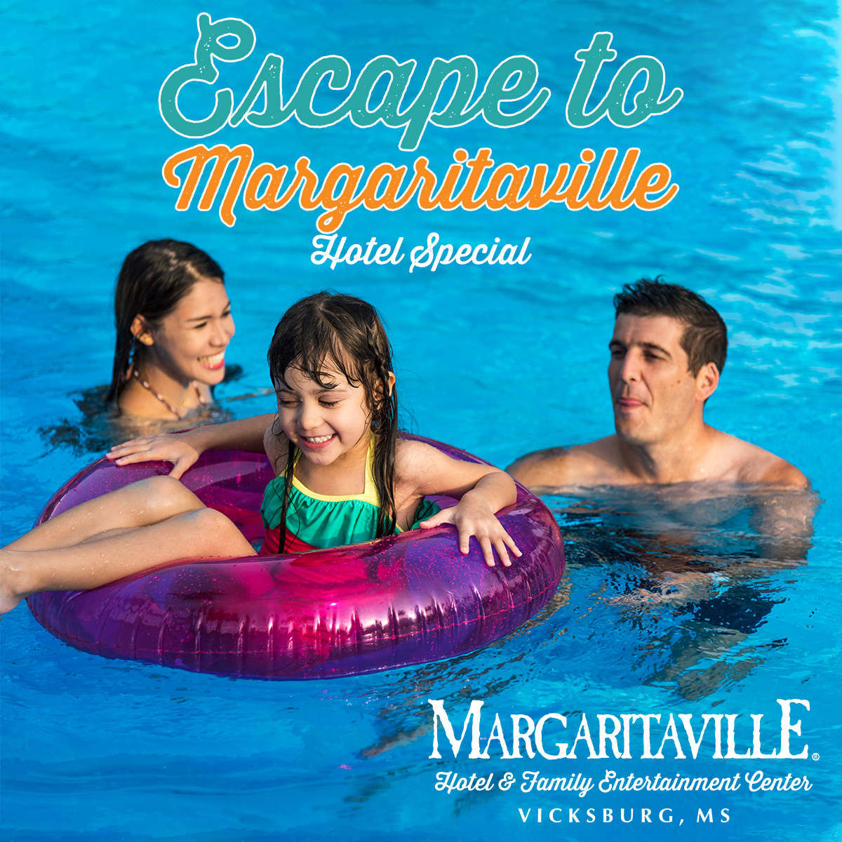 Escape to Margaritaville Hotel Special in Vicksburg