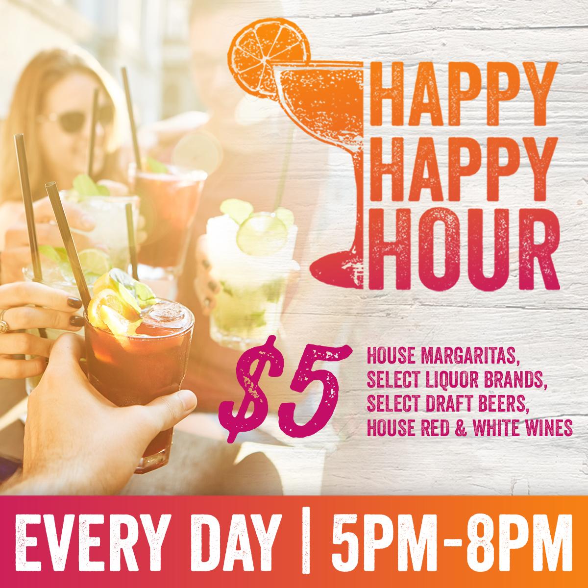 Happy Happy Hour Drink Specials Vicksburg