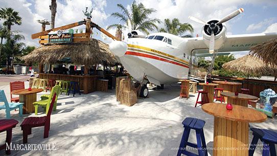 Lone Palm Bar - Jimmy Buffett's Margaritaville Orlando Restaurant