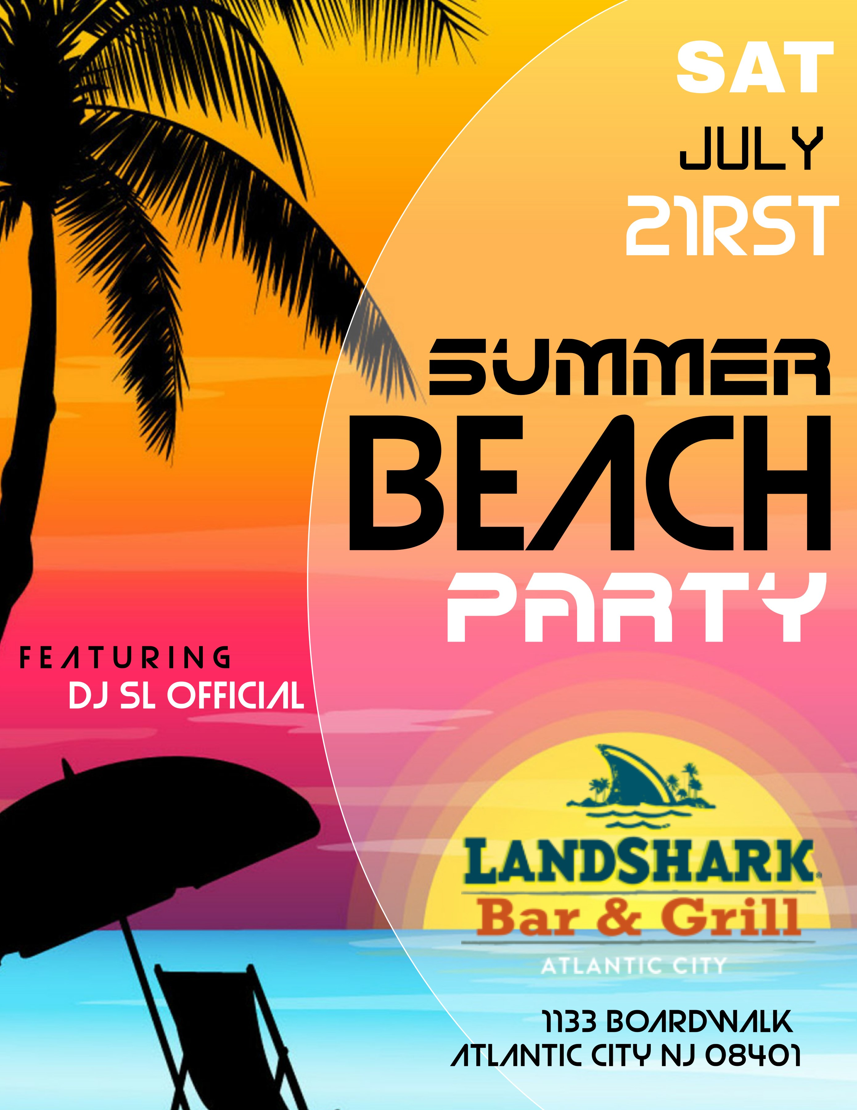 LandShark Bar & Grill Restaurant in Atlantic City | Atlantic