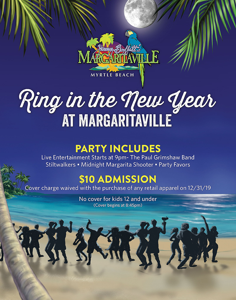 Ring in the New Year at Margaritaville