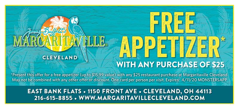 Free Appetizer*