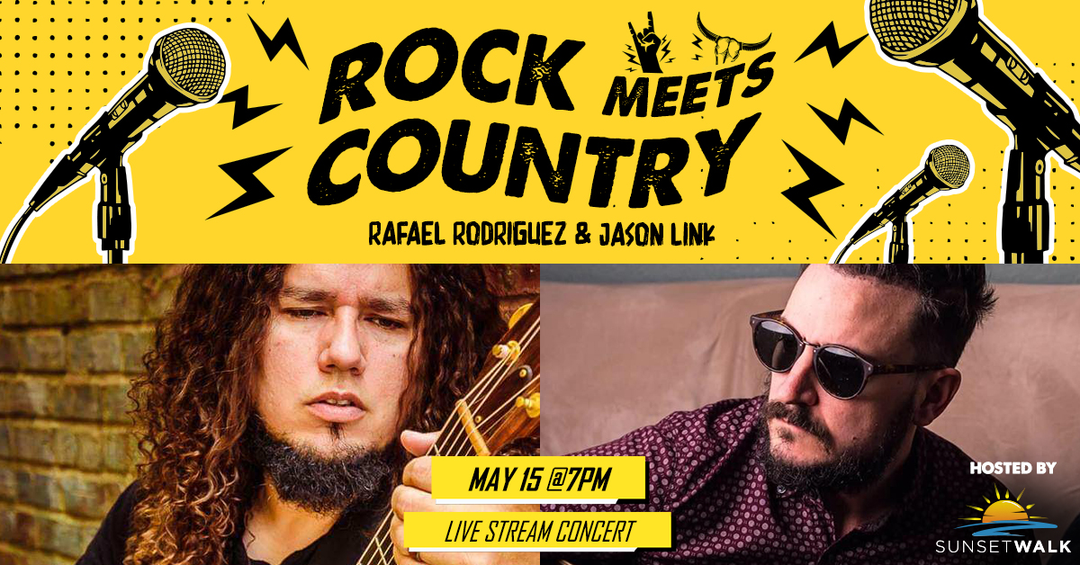 Sunset Sounds: Rock Meets Country Live Stream