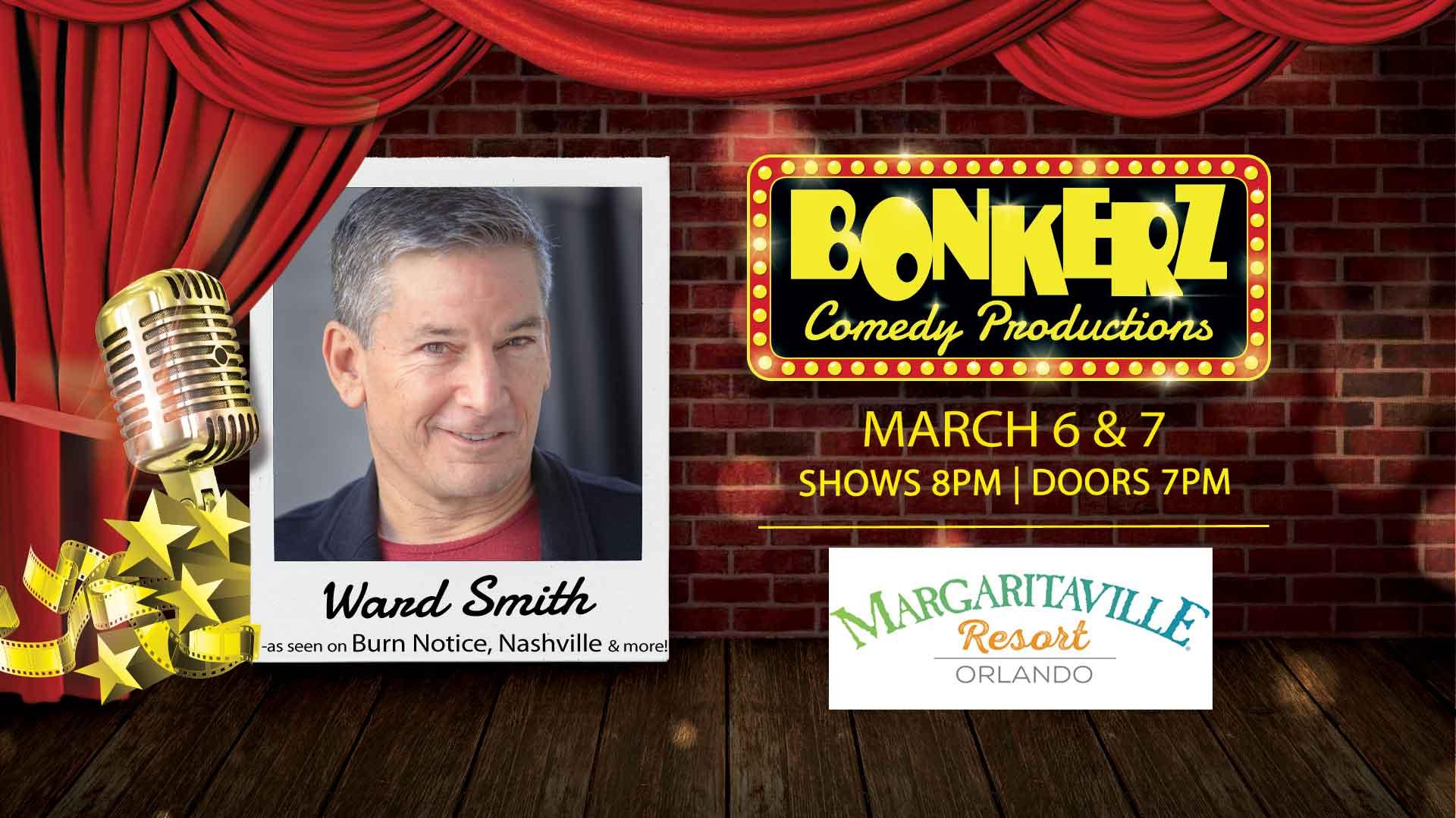 Ward Smith at Bonkerz Comedy Club