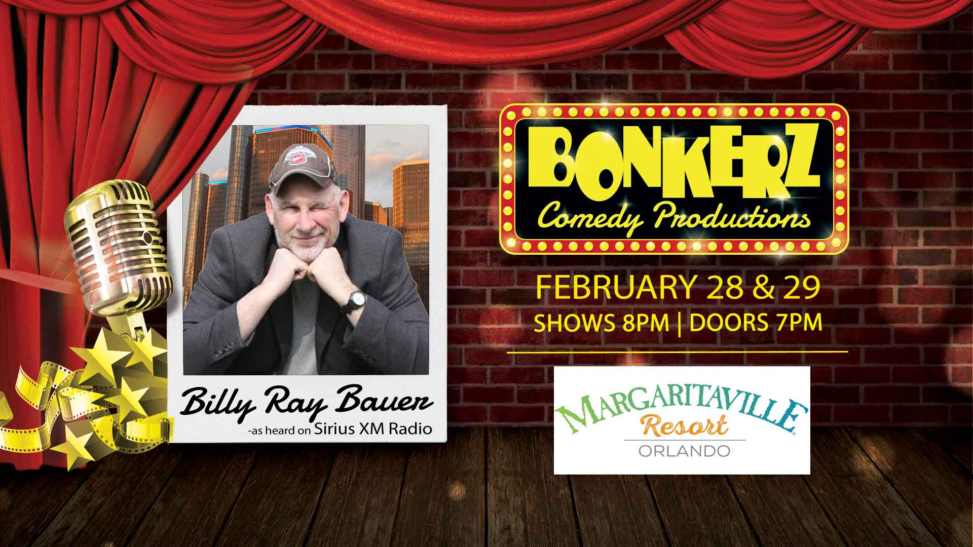 Billy Ray Bauer at Bonkerz Comedy Club