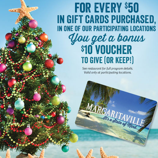 christmas in the caribbean gift card bonus