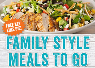 Family Style Meals To Go!
