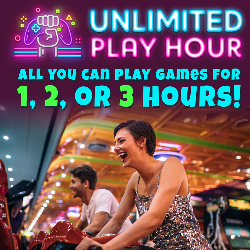 Unlimited Game Play Arcade Special
