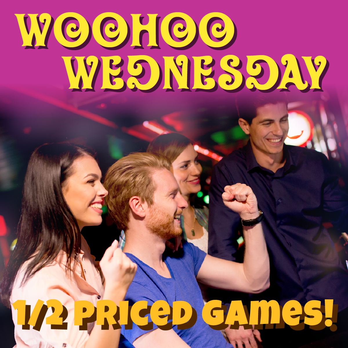 WooHoo Wednesday 1/2 Off Games