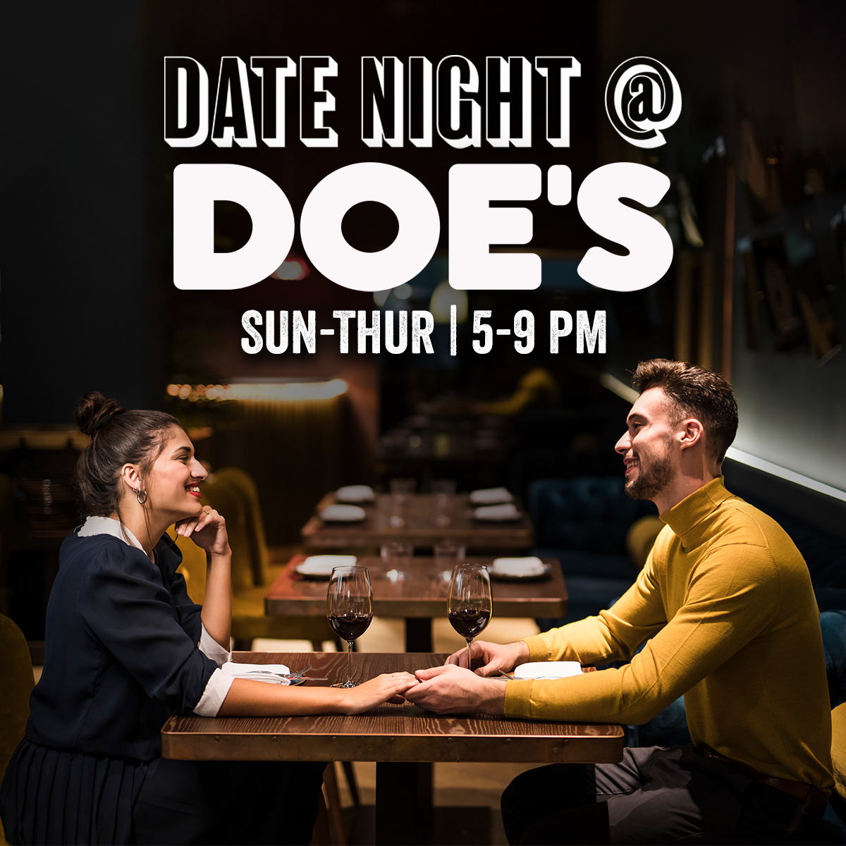 Make your date night a Doe's date night