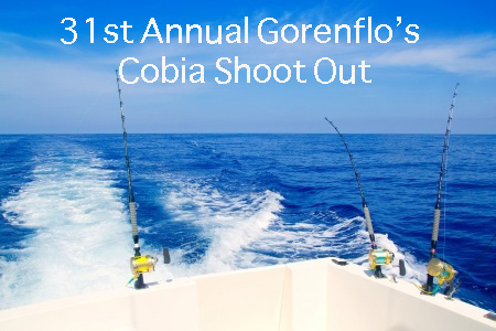 31st Annual Gorenflo's Cobia Shoot Out