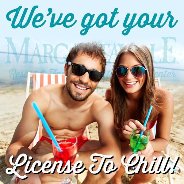 License To Chill Hotel Special Biloxi