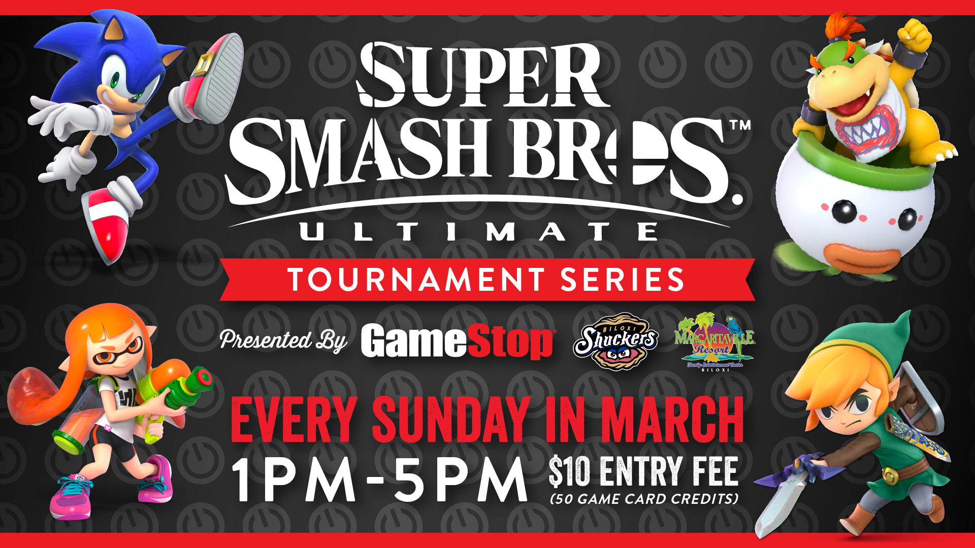 esports in biloxi smash bros