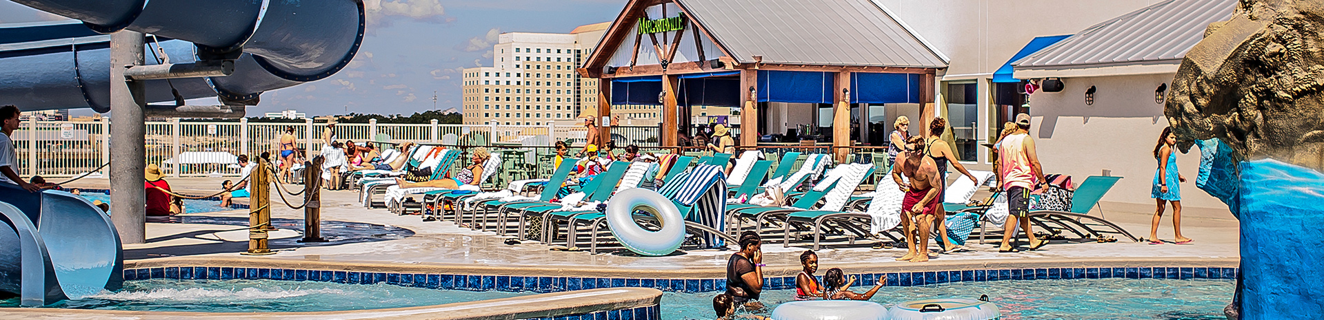 Pool Margaritaville Resort Family Entertainment Center Of