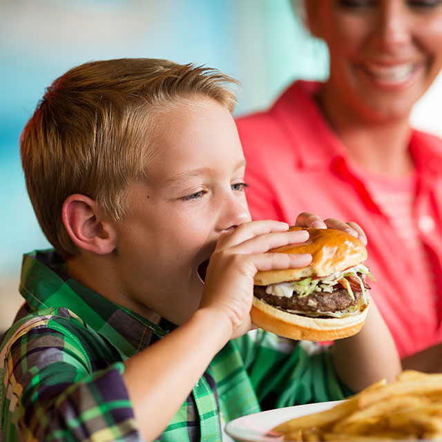 Family friendly dining options
