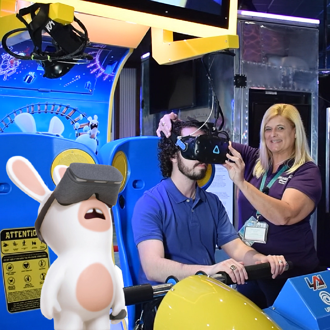 Virtual Rabbids Ride Biloxi