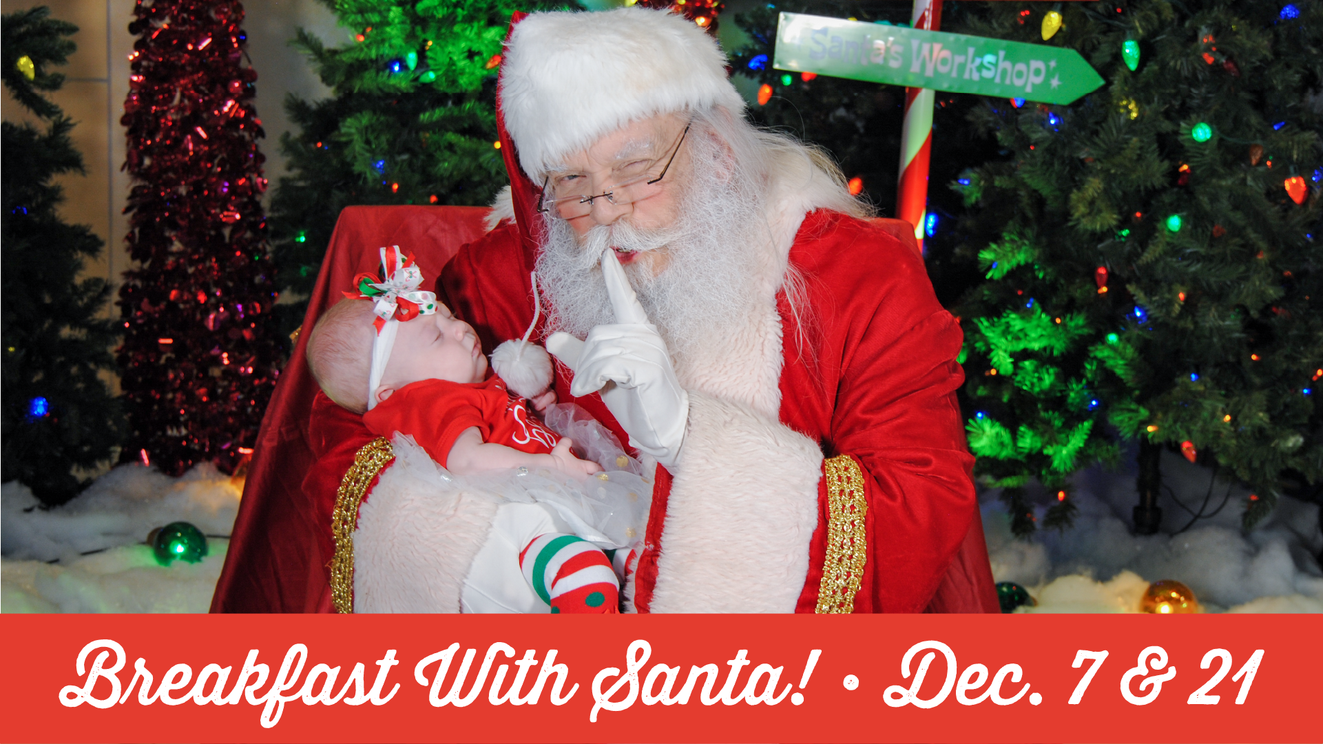 Breakfast with Santa Pictures in Biloxi