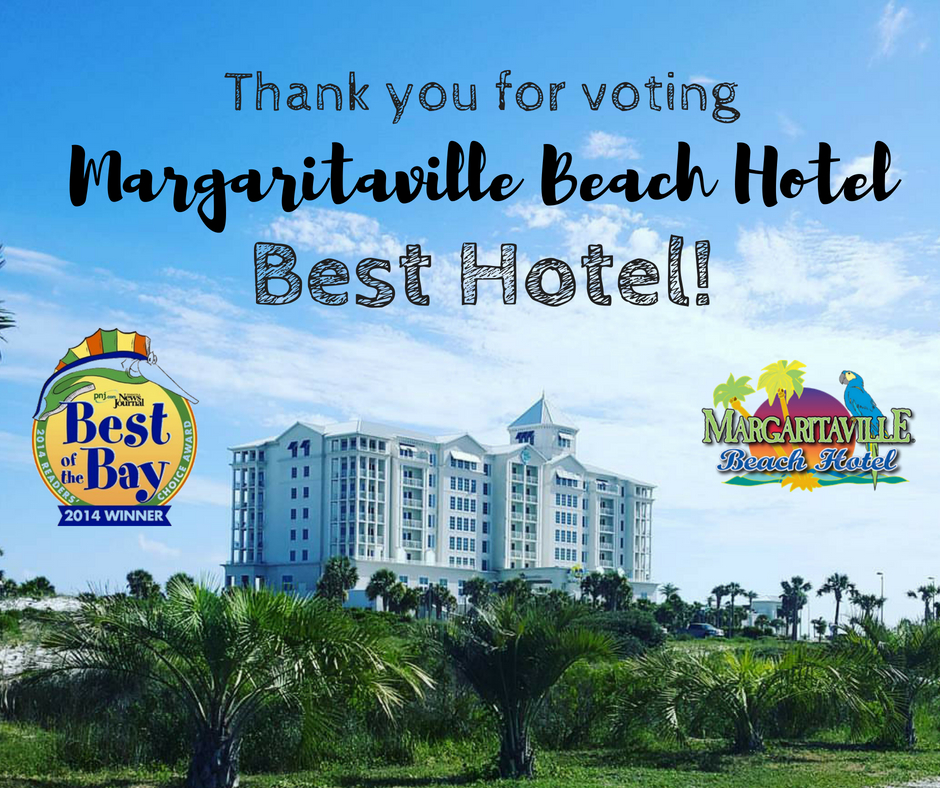The PENSACOLA BEACH HOTEL, the number one hotel in Florida