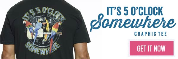 5 O'Clock Somewhere Tee