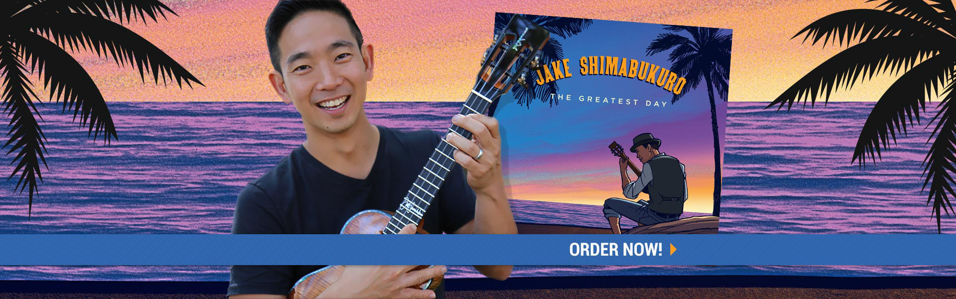 Pre-Order available for Jake Shimabukuro????????'??????????????'???????s new album, The Greatest Day!