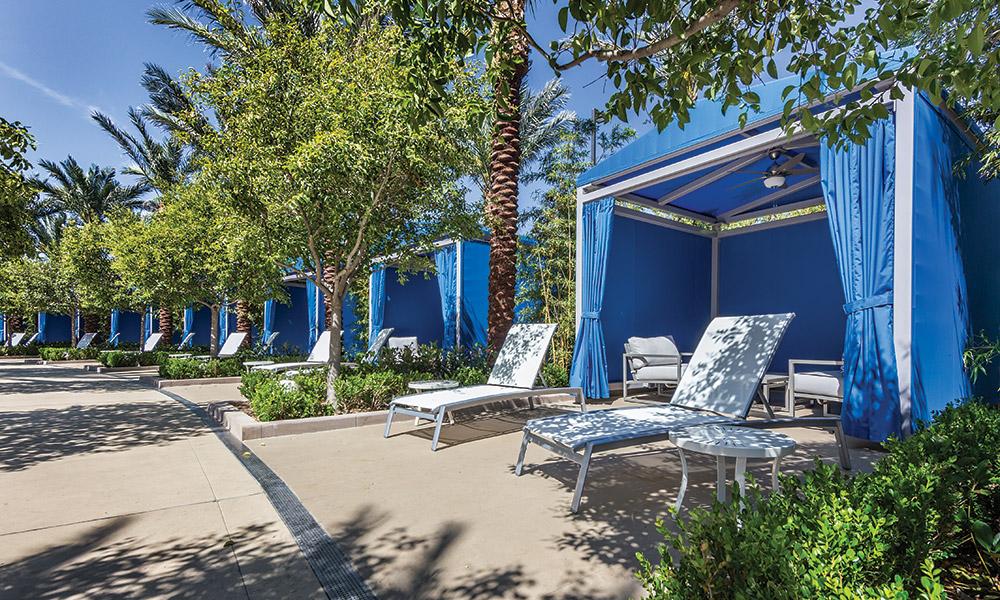 Pool Cabana Area