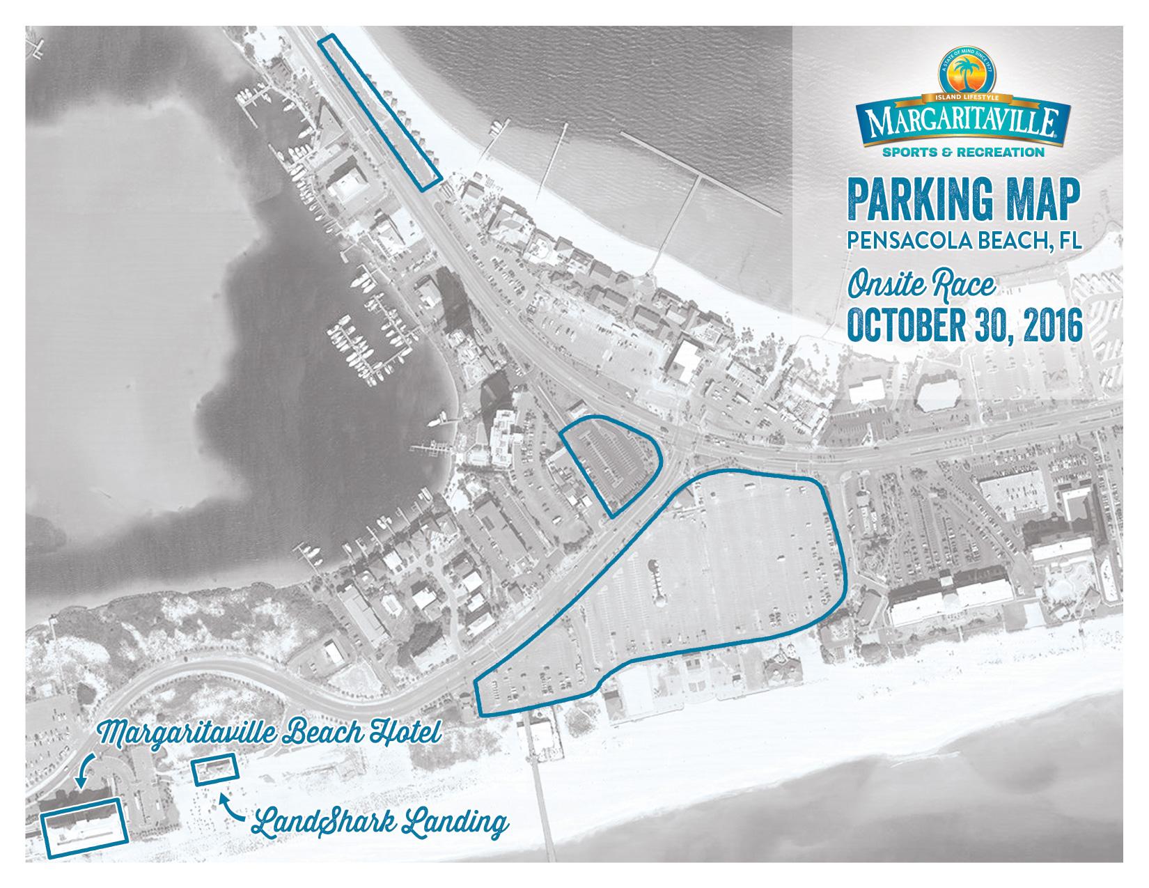 2016 MV Sports Parking Map