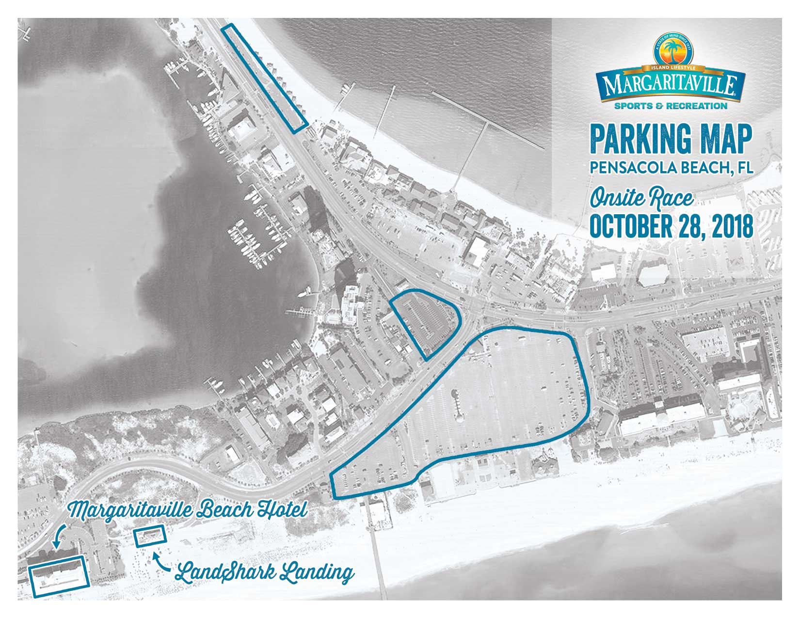 2018 MV Sports Parking Map