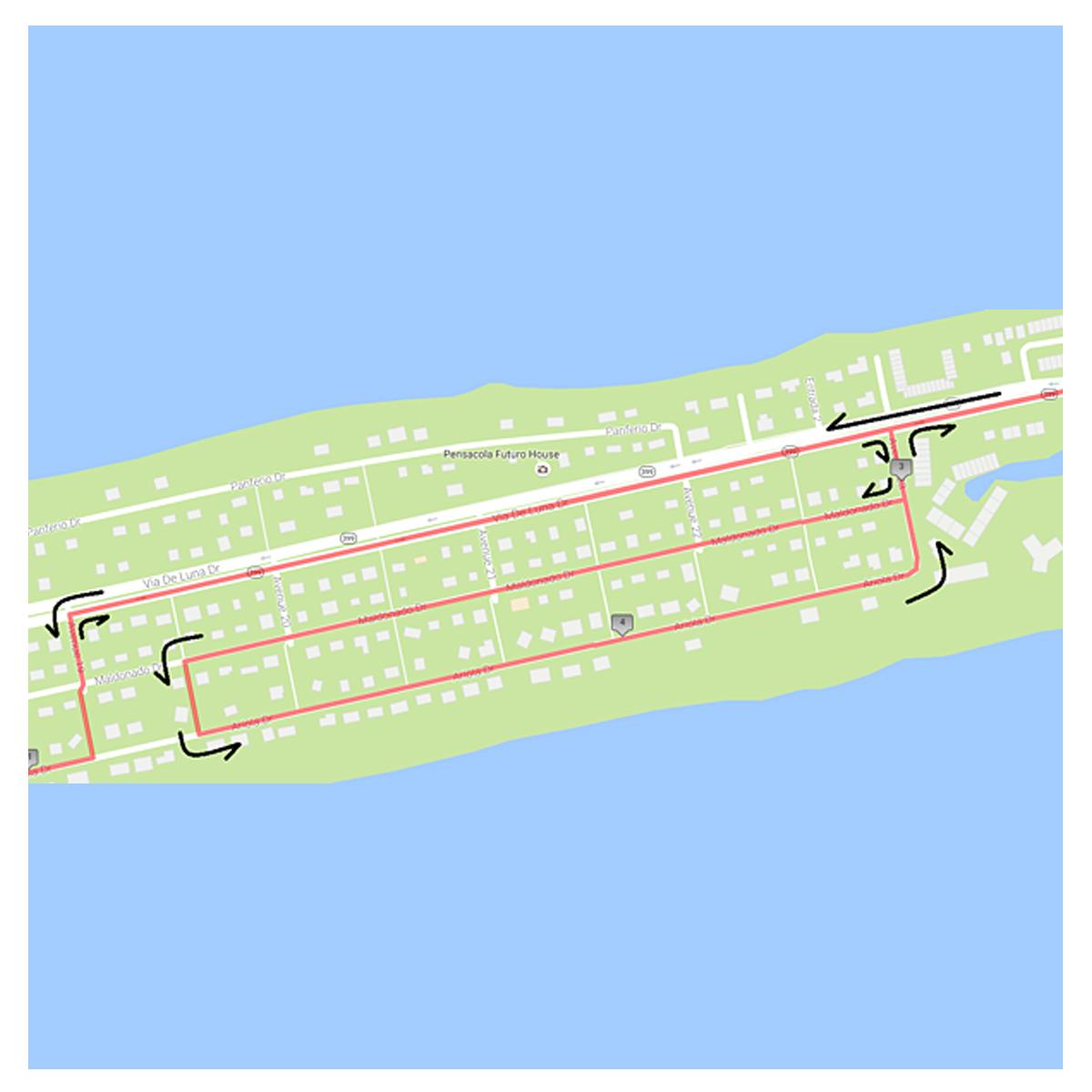 2017 MV Sports Parking Map