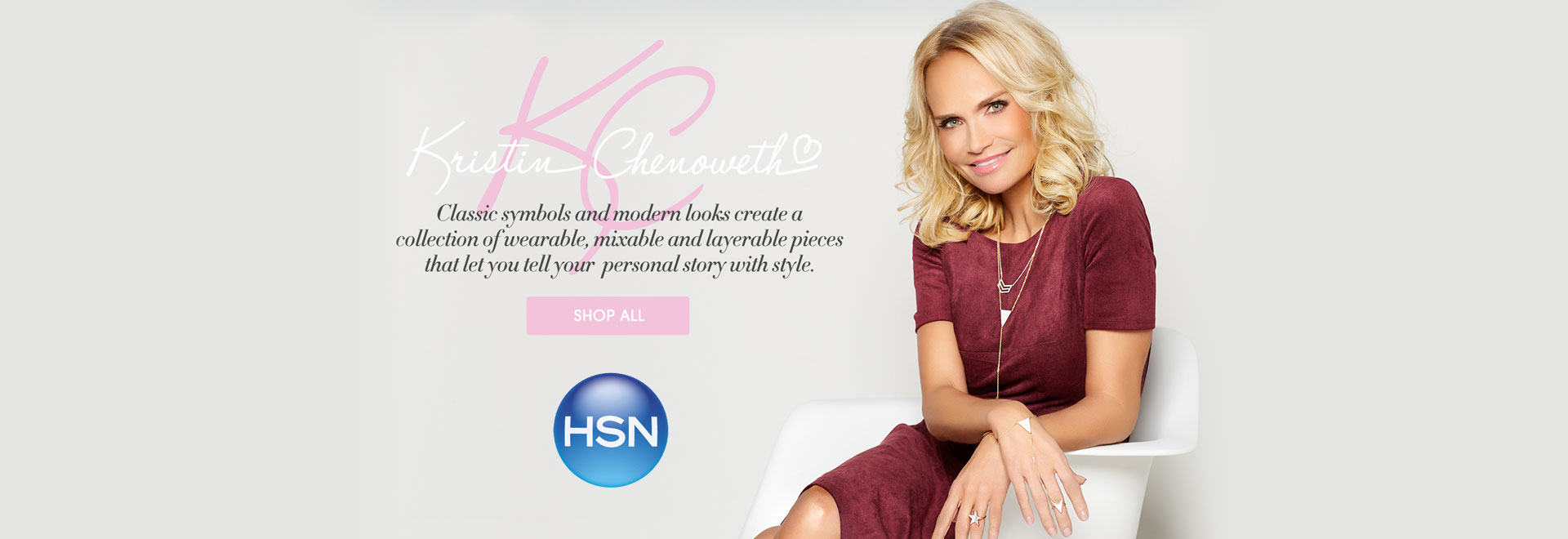 Kristin Chenoweth on HSN