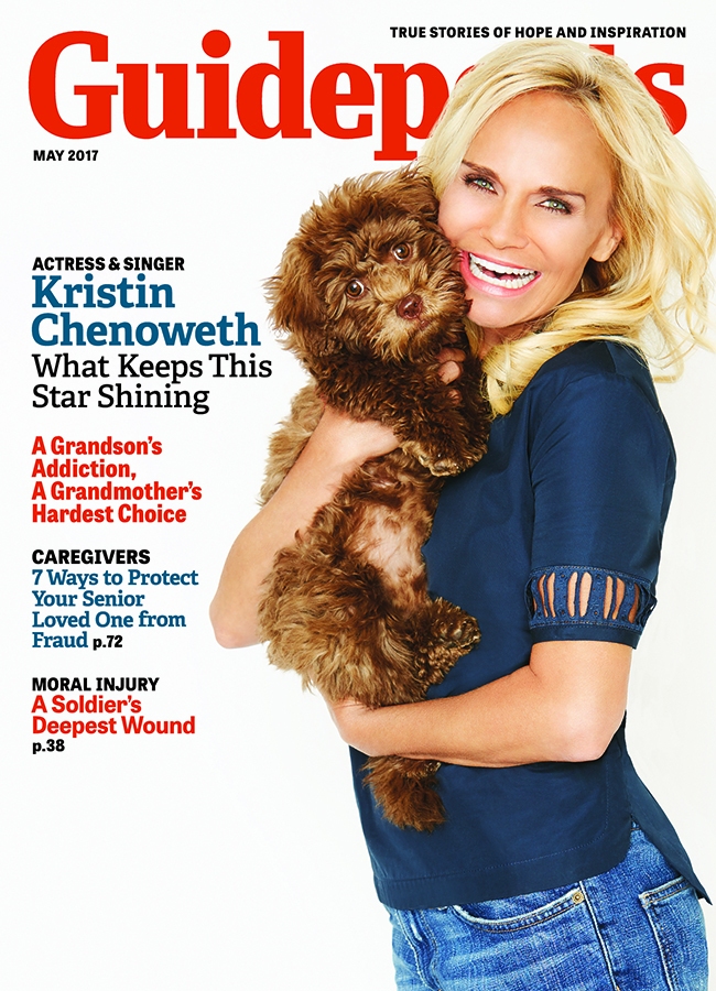 Kristin Chenoweth in Guideposts: What Keeps This Star Shining
